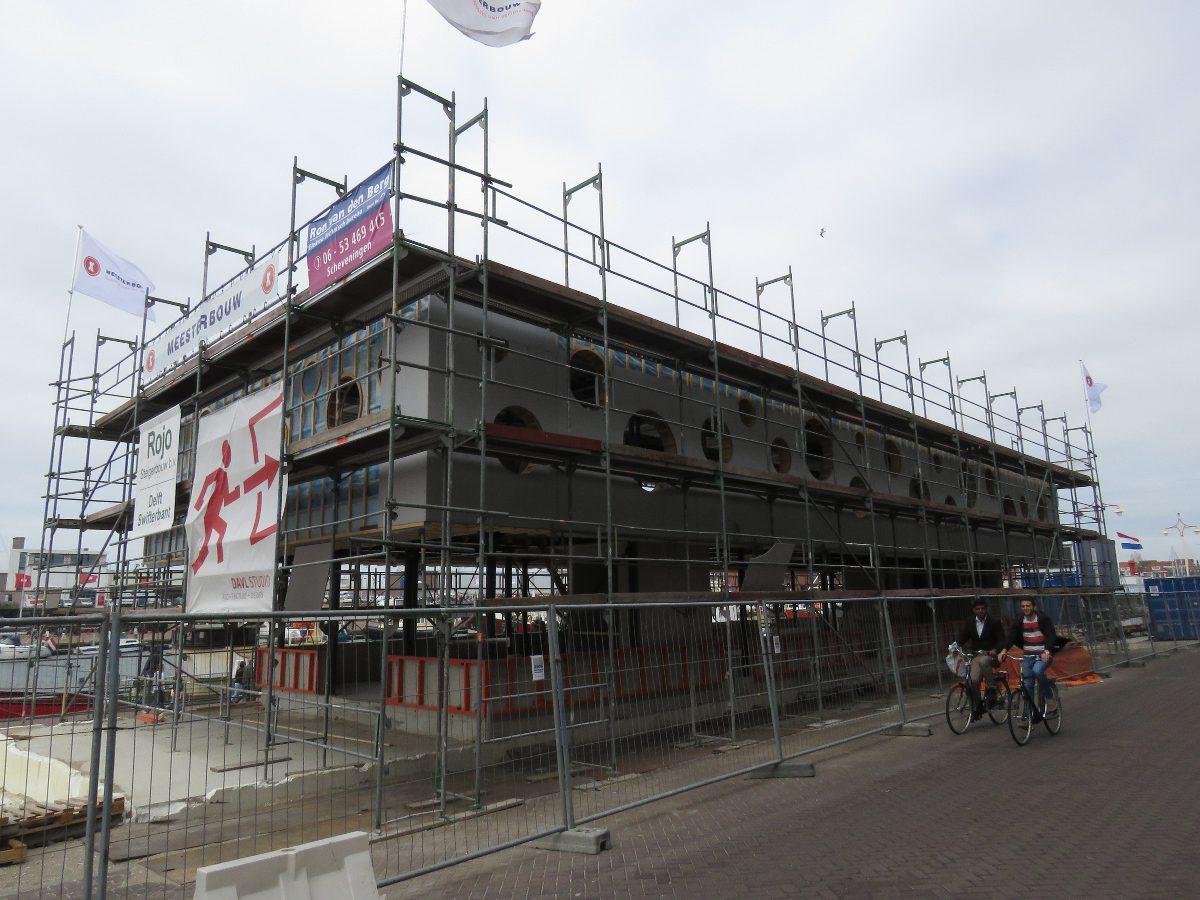 Paviljoen Scheveningse haven - Meesterbouw