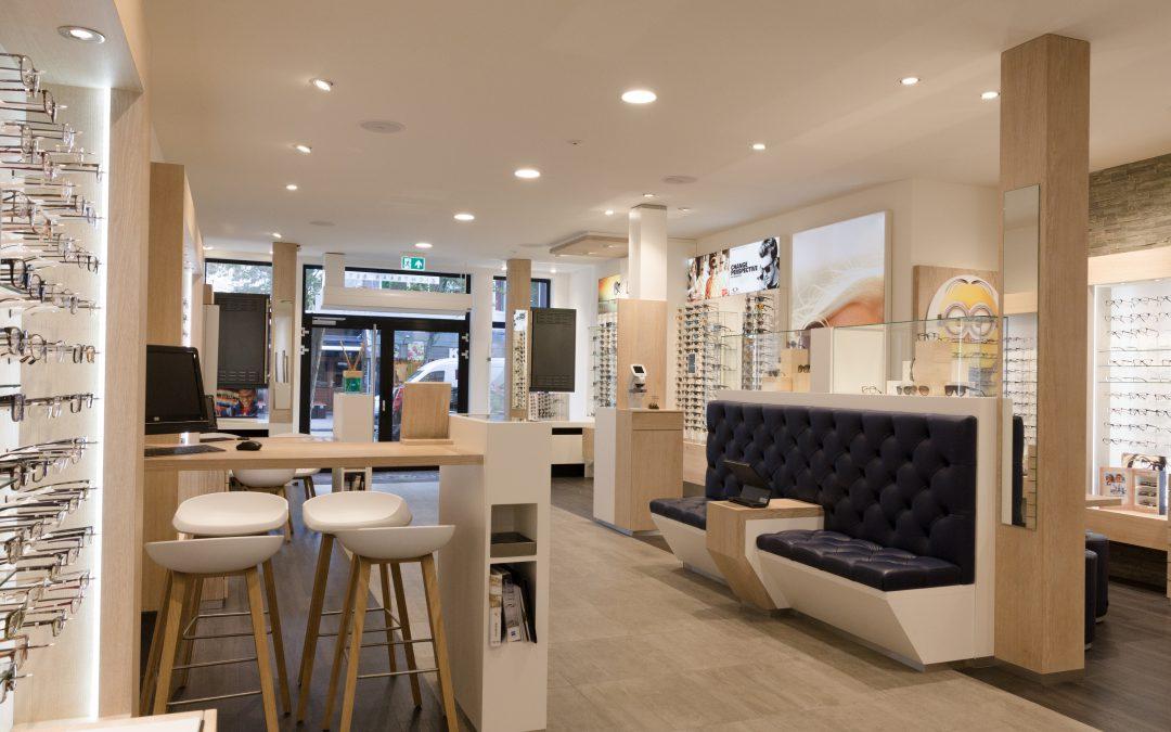 Iris optiek – renovatie winkelpand