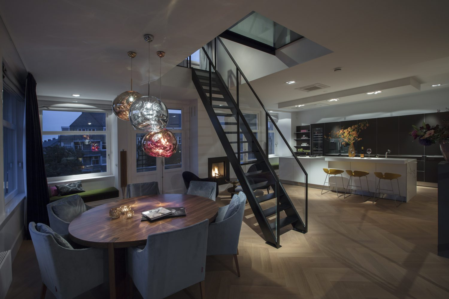 Meesterbouw Penthouse Amsterdam